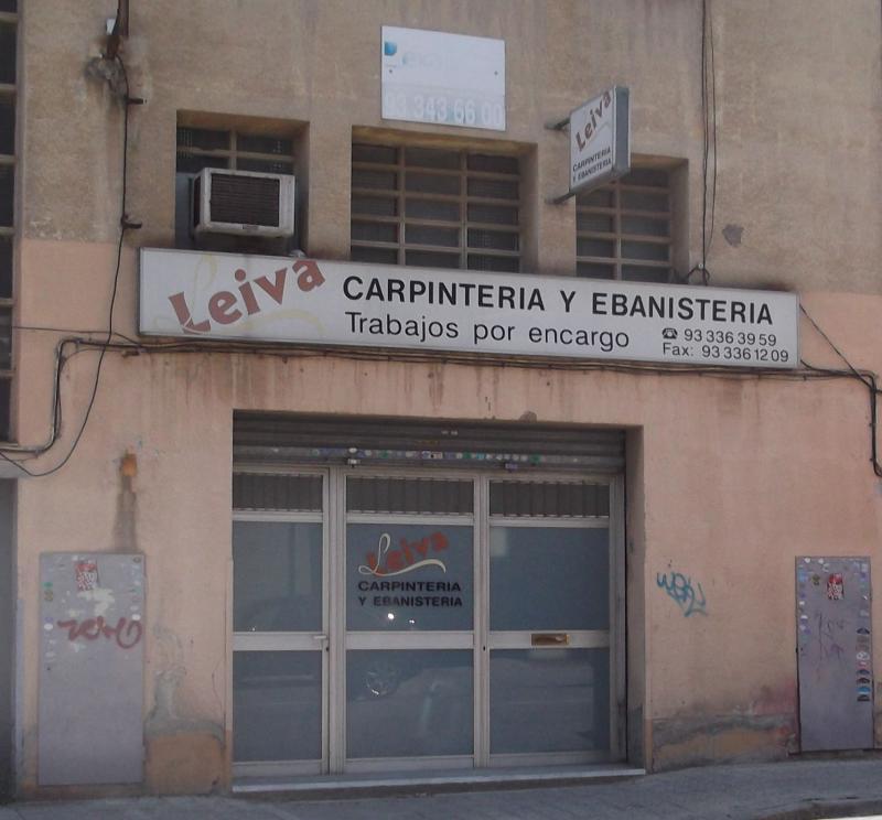 Ebanister a leiva l 39 hospitalet guia33 - Muebles hospitalet de llobregat ...