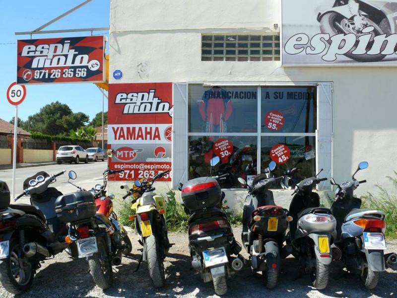Espimoto palma de mallorca guia33 for Motos palma de mallorca
