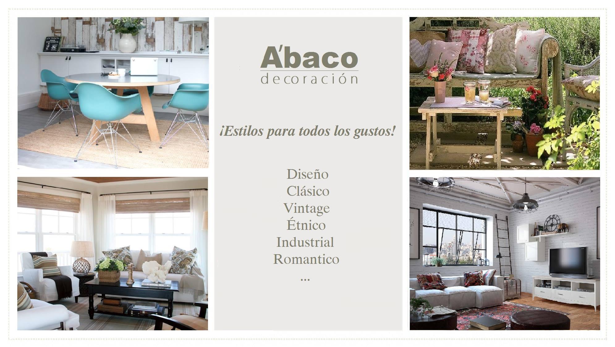 Abaco decoraci n tenerife mobiliario textil iluminaci n - Decoracion tenerife ...