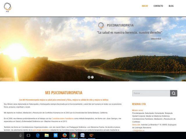 M3 Psiconaturopatía y Psicoterapia