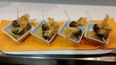 Bar restaurant Nou Coro Sant Feliu tapas, menú diario y pinchos crujiente de morcilla