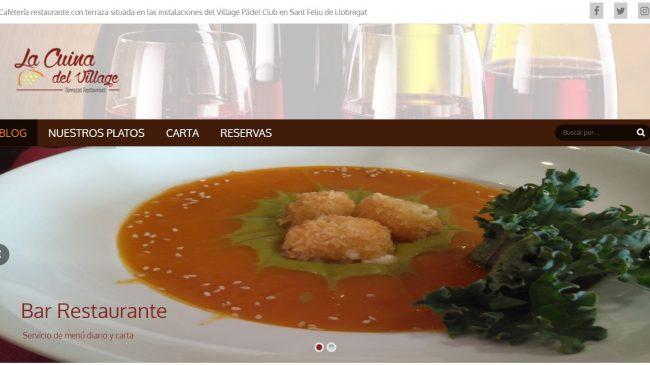 Blog de La Cuina del Village