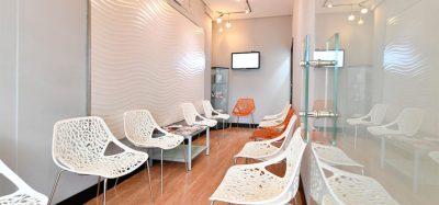 Sala de espera de Dental Mèdic