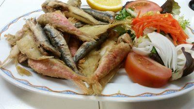 Bar restaurant Nou Coro Sant Feliu tapas, menú diario y pinchos fritura de pescado