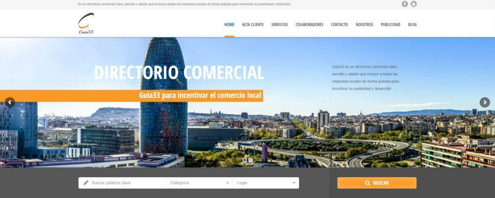 Estrenamos nueva Web en Guia33