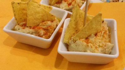 Bar restaurant Nou Coro Sant Feliu tapas, menú diario y pinchos humus crema de garbanzos