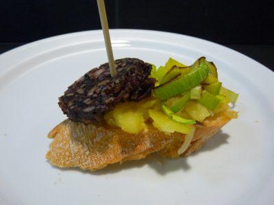 Bar restaurant Nou Coro Sant Feliu tapas, menú diario y pinchos morcilla de burgos