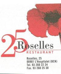 Restaurante 25 Roselles L'Hospitalet