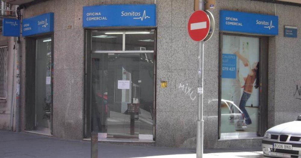 Sanitas oficina comercial cornell guia33 for Oficinas sanitas barcelona