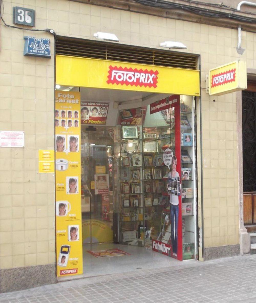 Fotoprix tiendas barcelona horarios 24